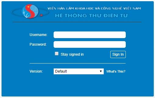 Hệ thống thư điện tử của Viện Hàn lâm Khoa học và Công nghệ Việt Nam