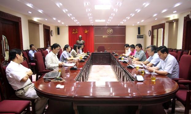 Hội nghị thống nhất về khung chính sách, công nghệ thẻ vé điện tử áp dụng cho mạng lưới vận tải công cộng đô thị trên địa bàn Thành phố Hà Nội