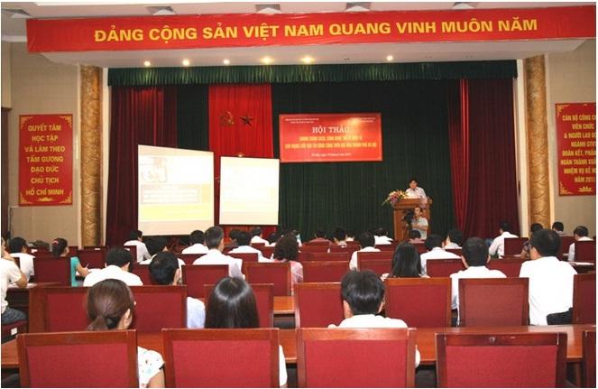Hội thảo khung chính sách, công nghệ thẻ vé điện tử cho mạng lưới giao thông vận tải công cộng trên địa bàn thành phố Hà Nội